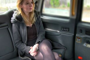 FakeTaxi - Hot babe in heels with big natural tits