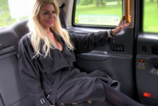 FakeTaxi - Dirty cock loving blonde with great tits