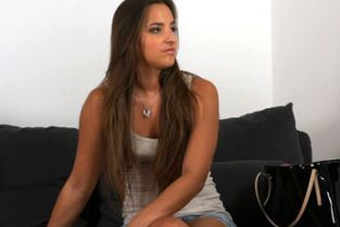 FakeAgent - Beautiful tanned model takes juicy creampie