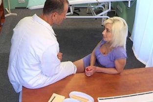 Fake Hospital - Horny blonde milf wants doctors cum inside her