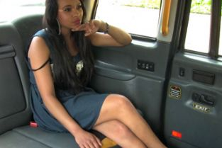 FakeTaxi - Brunette sucks fucks and takes it in the ass