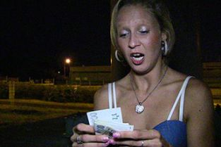 PublicAgent - Blonde women gets fucked outside next to the road