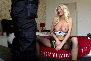 FakeCop - Lethal truncheon: MILF escort with big tits gets creampie