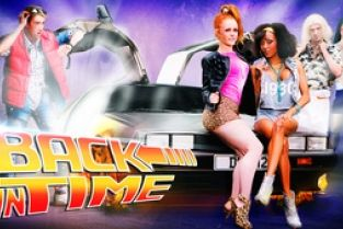 Digitalplayground - Back In Time: Alyssa Divine & Cathy Heaven & Danny D & Pascal White