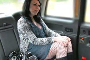 FakeTaxi - Facial piercings make good blowjobs