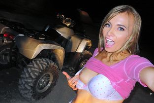 Naked Hottie's ATV Bang Video & Kaylee Jewel - I Know That Girl