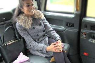 FakeTaxi - Petite tight pussy loves the cock