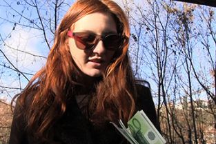 PublicAgent - Horny redhead fucked hard outdoors