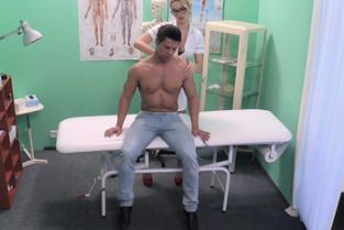 Fake Hospital - Patient gets the sexy treatment