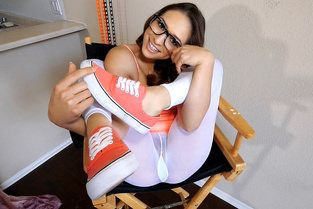 Tiny Latina Deepthroats the D Video & Sara Luvv - Don't Break Me