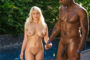 Blacked - Girlfriend Cheats on Fiance With BBC Kylie Page & Flash Brown