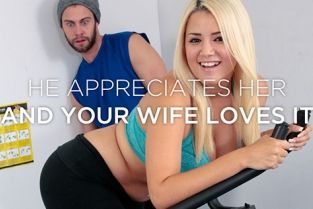 SheWillCheat - Alix Lovell Hotwife's private workout with her personal trainer