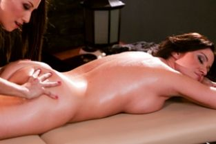 AllGirlMassage - Newly Wed and Alone Celeste Star, Angela Sommers