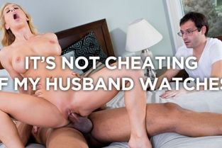SheWillCheat - Cherie DeVille Dating app helps cuckold hotwife finds her first BBC