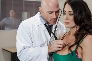 My Husband Is Right Outside... Johnny Sins, Reagan Foxx