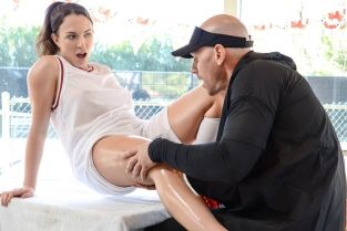 Applying Pressure To The Tender Pussy Johnny Sins, Lily Love