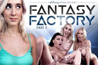 GirlsWay - Adriana Chechik, Serena Blair, Cadence Lux, Alexis Fawx Fantasy Factory 2: Squirting Therapist
