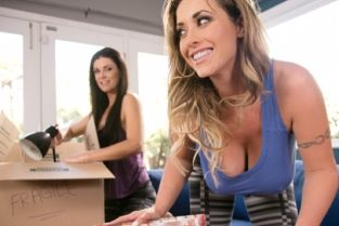 GirlsWay - India Summer, Eva Notty Moving Day: Part Two