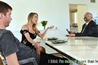 FamilyStrokes - Britney Amber Mind Your Manners And Your Dick