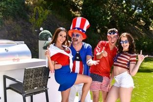 FamilyStrokes - Ariella Ferrara, Jennifer Jacobs Family Fourth Of July