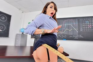 Anal Lesson From Tutor in Stockings Christiana Cinn - Mofos B Sides