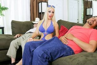 FamilyStrokes - Aspen Romanoff Getting Naughty On Grandpas Walker