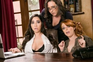 GirlsWay - Lady Boss: Caught at the Office Penny Pax, Karlee Grey, Sinn Sage