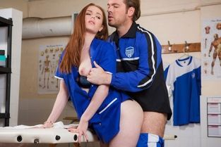 DorcelClub - Ella Hughes That Massage Turns Sexual