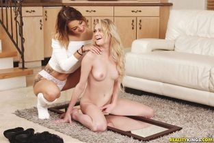 RealityKings - Chloe Foster, Evelin Stone Pure Lesbian Lust WeLiveTogether