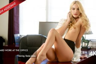 New Sensations - Kenna James Kenna Is The New Hot Asistant