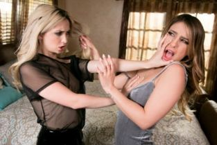 Web Young - Our First Fight Kristen Scott, Jane Wilde