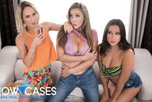 GirlsWay - Carter Cruise, Ashley Adams, Lena Paul 2 Scenes In 1