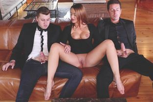 BangGlamkore - Daphne Klyde Needs More Than One Dick To Satisfy Her