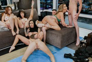 Milfty - Alana Cruise, Cytherea, Lily Lane, Richelle Ryan, Pristine Edge Divorce Party Dick Down