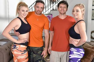 DaughterSwap - Kinsley Anne, Zoe Parker Daughters And Dad Bods