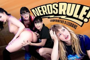 GirlsWay - Alison Rey, Whitney Wright, Ivy Wolfe, Judy Jolie Labyrinths And Lesbians