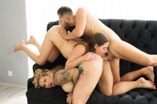 DeviantAss - Ryan Conner And Cathy Heaven Sharing Is Caring A Antonio Suleiman