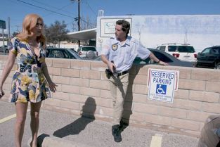 BangTrickery - April O'Neil Fucks The Security Guard To Get Out Of Her Parking Ticket!