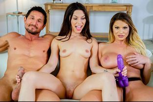FilthyFamily - Brooklyn Chase, Gianna Gem Learning To Fuck With My Step-parents
