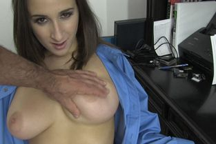 Ashley Adams Just A Shirt MofosBSides