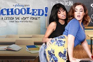 GirlsWay - Natasha Nice, Ember Snow A Lesson She Wont Forget