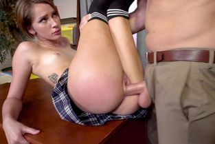 BangYNGR - Nataly Porkman Gets Punished For Being A Naughty Schoolgirl