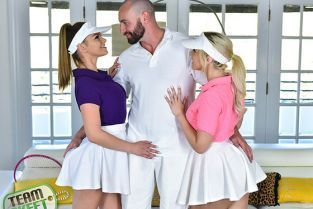 TeamSkeet - Athena Faris, Allie Nicole Stepsister Tennis Sex StepSiblings