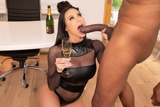 JulesJordan - Kendra Lust Big Tit MILF Star Kendra Lust Has A BBC Celebration With Dredd