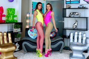AllAnal - Adriana Chechik, Brooklyn Gray Adriana And Brooklyn Are Partners In Slime