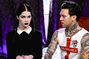 BurningAngel - Evelyn Claire Very Adult Wednesday Addams