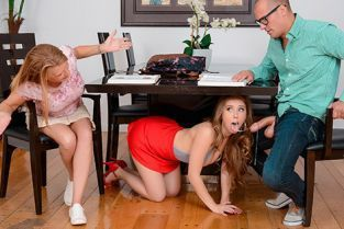 RealityKings - Lena Paul Studying With A Slut SneakySex