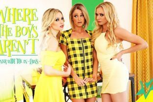 WhereTheBoysArent - Briana Banks, Kenzie Taylor, Emma Hix Dinner With The In-Laws