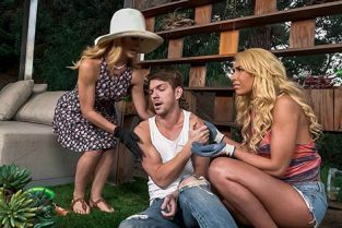 RealityKings - Cherie Deville, Carmen Caliente Help Around The Garden MomsBangTeens