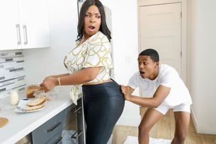 LilHumpers - Aryana Adin The Kitchen Humper